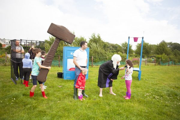 Kids put their parents up for trian and even put them in jail at Kids Court which you'll find at Playstival, the spectacular festival of play and music for kids and their parents, which returns for its second year on Saturday August 10th and Sunday August 11th 2019 at Dundrum's Airfield Estate and Farm.